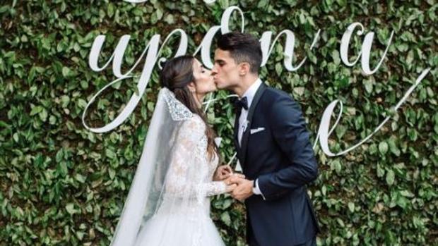 La pareja ha dado el «Sí quiero», hace menos de una semana