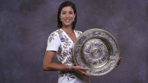 La tenista con un diseño de Alexander McQueen