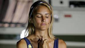 Alba Carrillo durante la final del Supervivientes