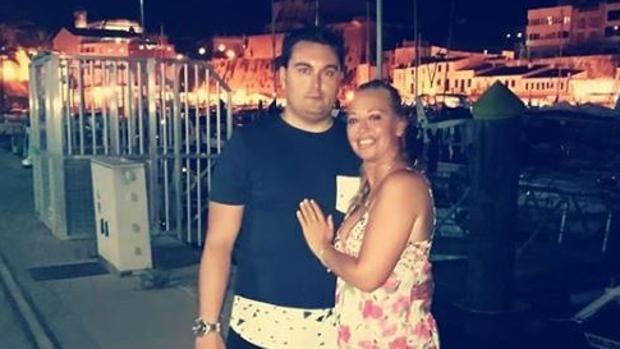 Belén Esteban y su novio Miguel