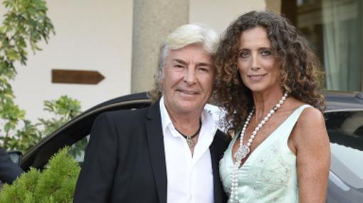 Belinda Alonso junto a su marido