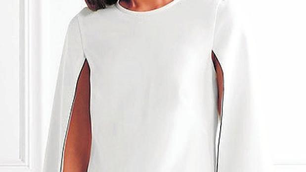 Vestido blanco de DKNY
