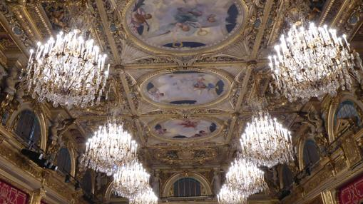 Salón de fiestas del Palacio del Elíseo
