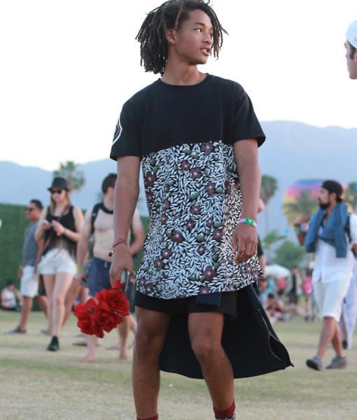 Jaden Smith en el Festival Coachella
