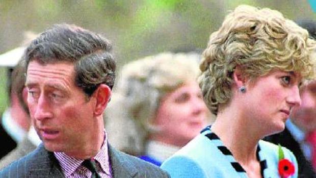 El Príncipe Carlos y la Princesa Diana