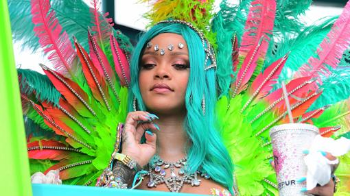 Rihanna en el Fetival