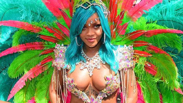 Rihanna en el «Crop Over Festival» de Barbados
