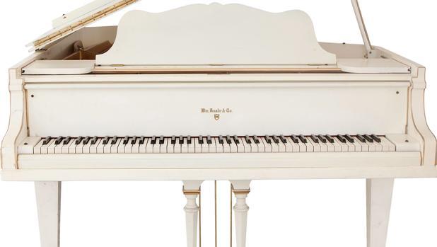 El legendario piano de cola