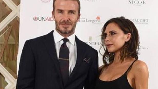 Los Beckham en una foto publicada por Victoria en sus redes