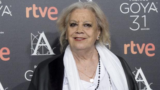 La actriz ganadora del Goya a mejor actriz de reparto