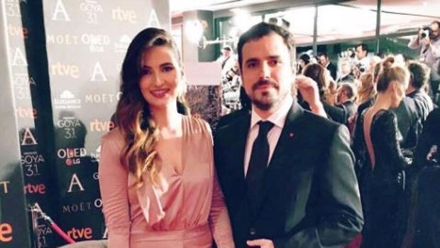 Anna Ruiz y Alberto Garzón