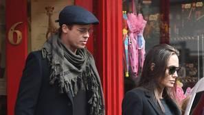Angelina Jolie y Brad Pitt el pasado año