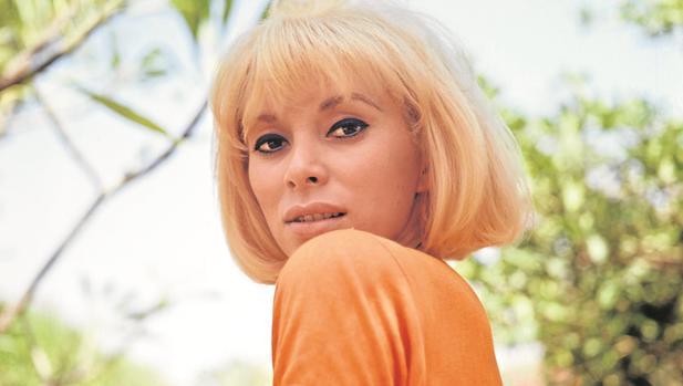 La actriz francesa