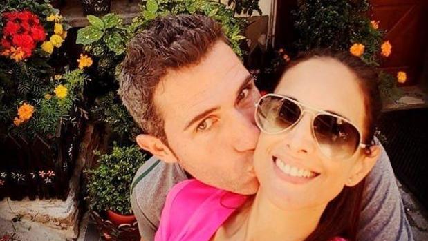 Nuria Fergó y su novio, Chechu