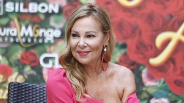 Ana Obregón, en la presentación de su nueva obra de teatro