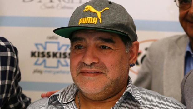 El exfutbolista Maradona
