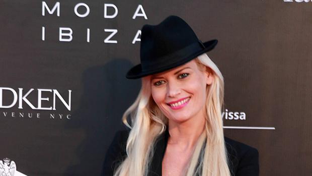 Maya Hansen durante la Pasarela Adlib en Ibiza