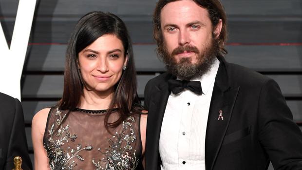 El actor recibiendo su premio Oscar el el mes de febrero