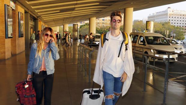 Chabelita Pantoja y Alejandro Albalá en Sevilla