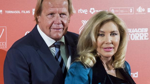 Norma Duval y Matthias Kühn en abril de este año en Madrid