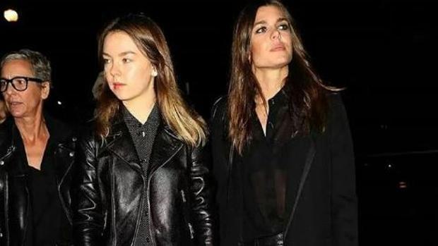 Las hermanas Carlota Casiraghi y Alexandra de Hannover