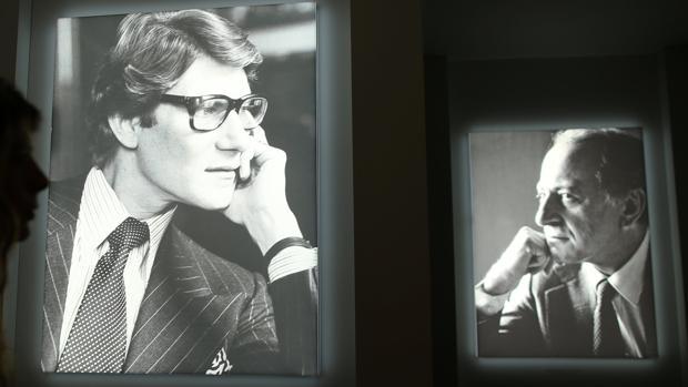 Pierre Bergé y Saint Laurent