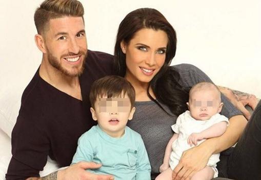 La familia Ramos Rubio al completo
