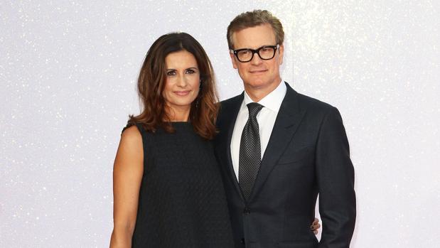 Colin Firth y su esposa, la italiana, Livia Giuggioli
