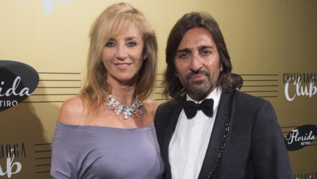 Mariola Orellana y Antonio Carmona