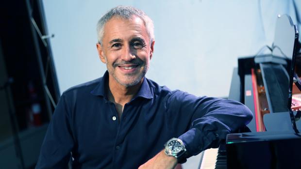El cantante de Sabadell durante su entrevista con ABC para presentar el álbum «Vía Dalma III»