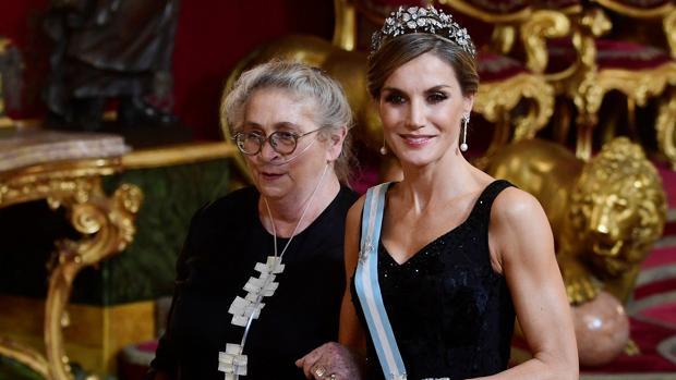 Nechama Rivlin junto a Doña Letizia