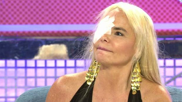 Leticia Sabater en el programa «Sálvame Deluxe»