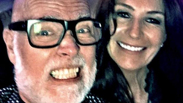 Gary y Julie-Ann Goldsmith la noche de la agresión, el pasado octubre