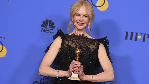 Nicole Kidman con su premio