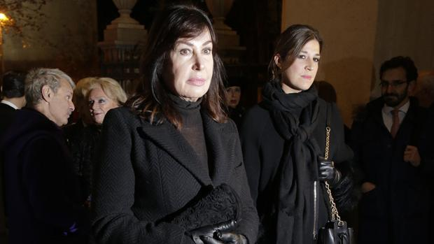 Carmen Franco y su hija, Cynthia Rossi