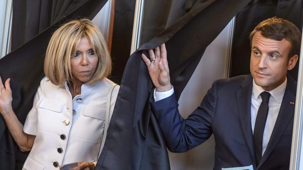 Brigitte y Emmanuel Macron