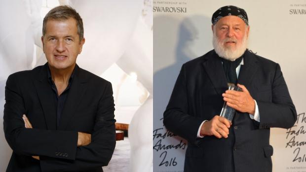 Mario Testino y Bruce Weber