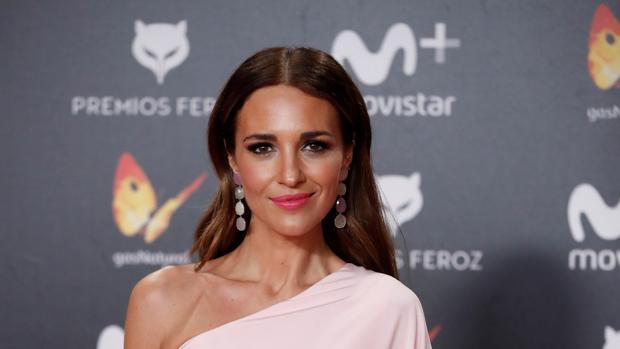 Paula Echevarría, en los Premios Feroz este lunes
