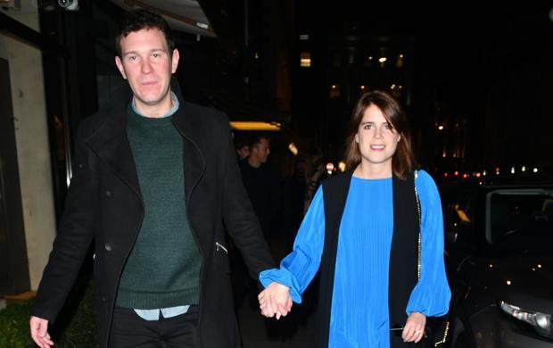 Jack Brooksbank y Eugenia de York, por las calles de Londres