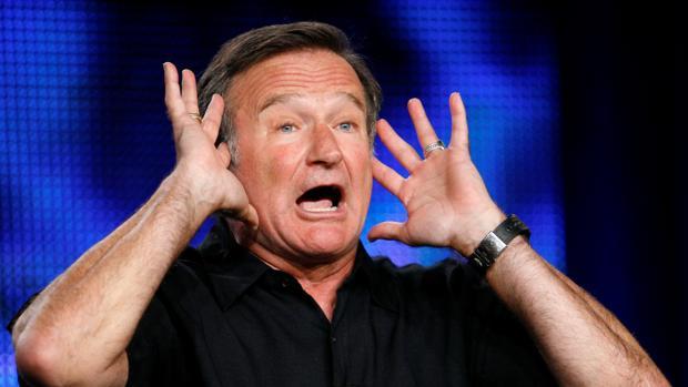 Robin Williams en julio de 2009 en una gala de televisión en Pasadena, California