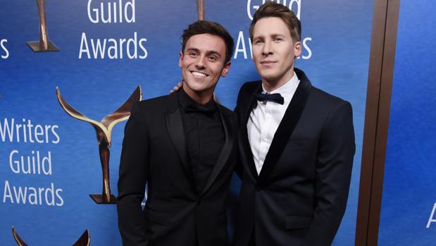 Tom Daley y su marido Dustin Lance Black