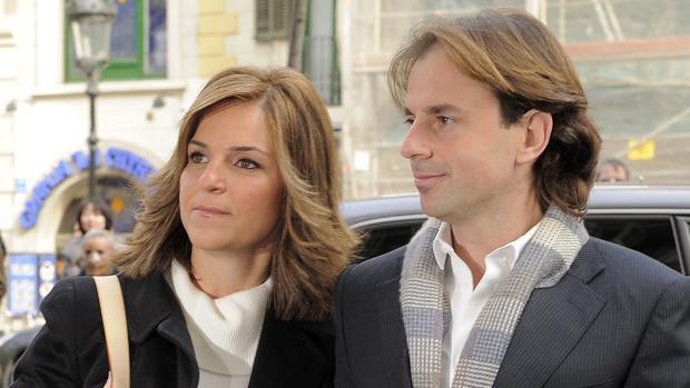 Arantxa Sánchez Vicario junto a su ya ex marido Josep Santacana