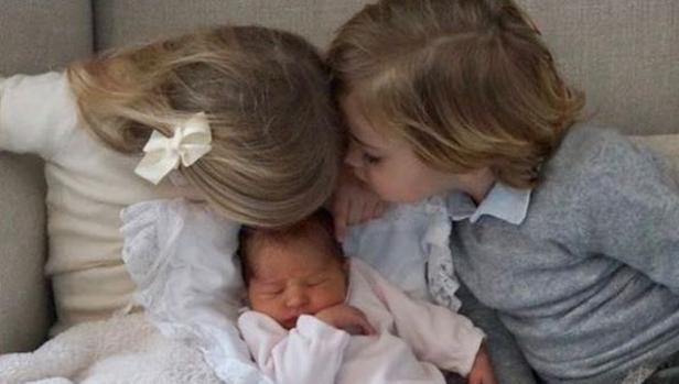 Los tres hijos de la princesa Magdalena de Suecia
