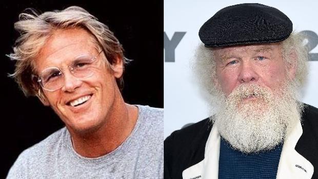 El antes y el después de Nick Nolte
