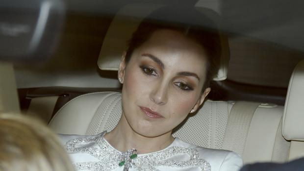 La duquesa de Suárez, Alejandra Romero, el día de su boda