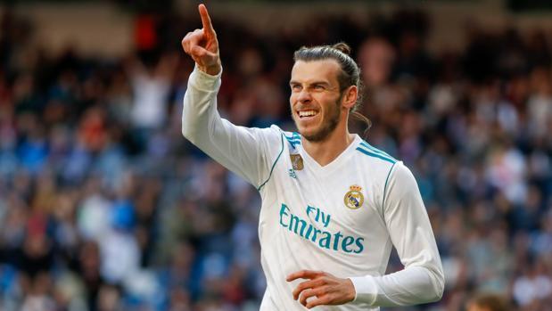 Gareth Bale en uno de sus partidos con el Real Madrid