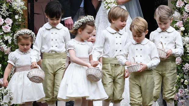 Los pajes protagonistas de la boda de la hermana de la duquesa de Cambridge, Pippa Middleton