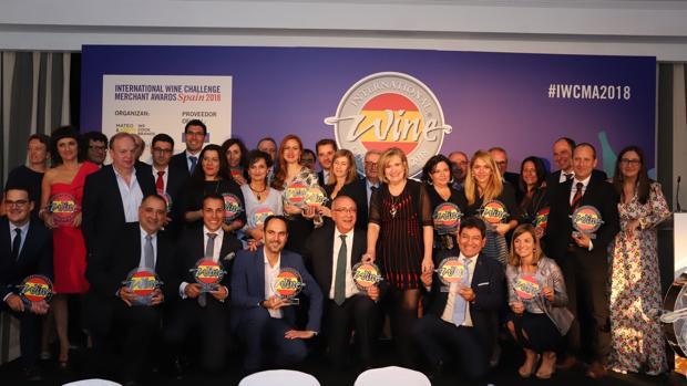 Foto de los ganadores de los IWC