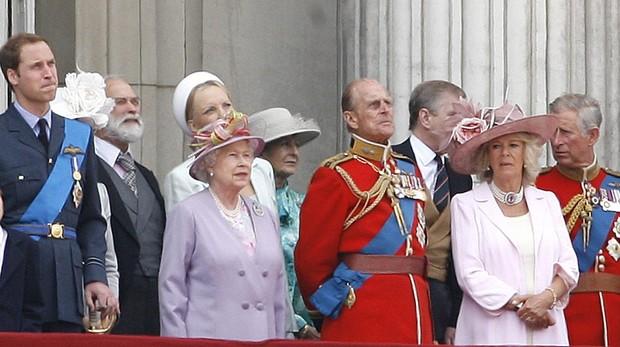 Parte de la Familia Real británica