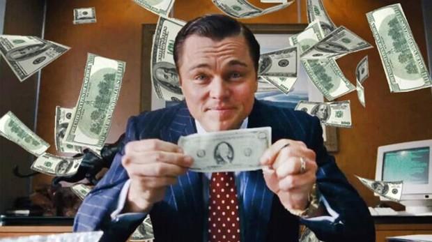 Imagen de la película «El lobo de Wall Street»